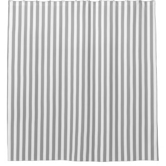Manhattan-Spring-Gray-Striped-Contemporary-Bath Shower Curtain