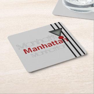 Manhattan Square Paper Coaster