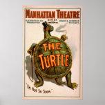 Manhattan Theatre New York Broadway The Turtle Poster