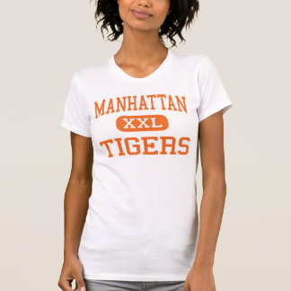 Manhattan - Tigers - High - Manhattan Montana T-Shirt