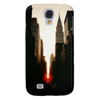 Manhattanhenge Sunset and the Chrysler Building Galaxy S4 Case