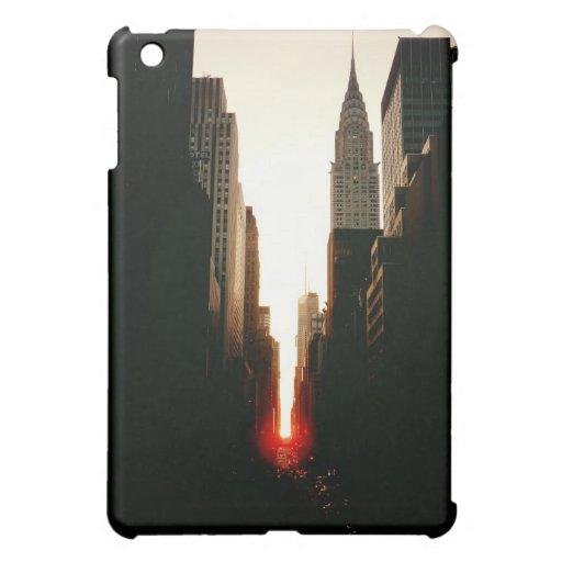Manhattanhenge Sunset and the Chrysler Building Case For The iPad Mini