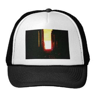 Manhattanhenge Sunset Looking Down 42nd Street Hat