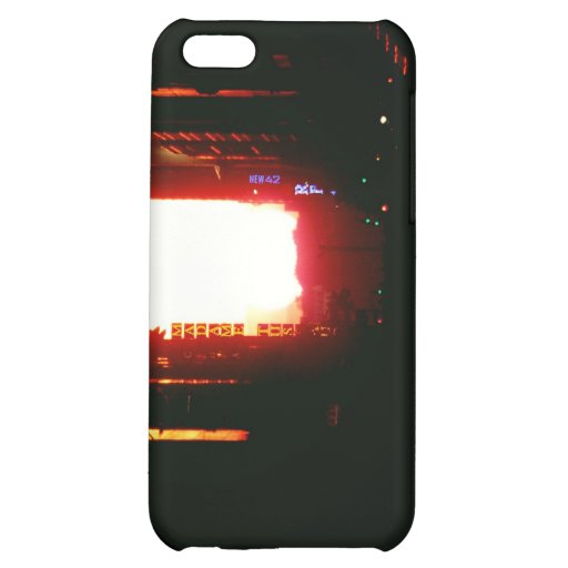 Manhattanhenge Sunset Looking Down 42nd Street iPhone 5C Covers