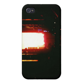 Manhattanhenge Sunset Looking Down 42nd Street Covers For iPhone 4