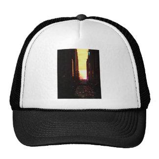 Manhattanhenge Sunset New York City Cap