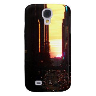 Manhattanhenge Sunset New York City Galaxy S4 Case