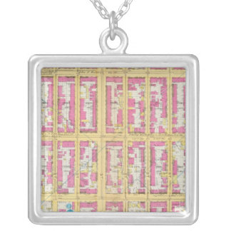 Manhatten, New York 10 Silver Plated Necklace