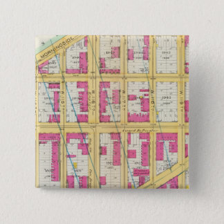 Manhatten, New York 11 15 Cm Square Badge