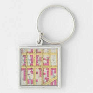 Manhatten, New York 11 Key Ring