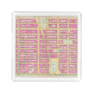 Manhatten, New York 12 Acrylic Tray