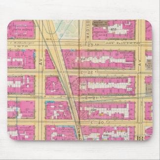 Manhatten, New York 12 Mouse Pad