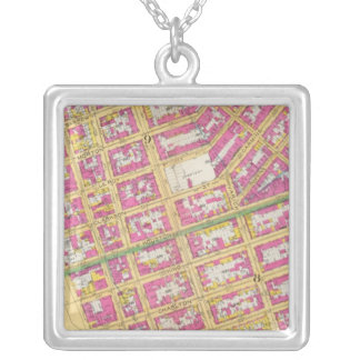 Manhatten, New York 14 Silver Plated Necklace