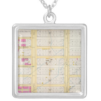 Manhatten, New York 15 Silver Plated Necklace