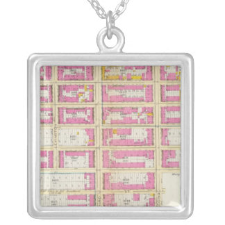 Manhatten, New York 16 Silver Plated Necklace