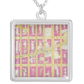 Manhatten, New York 18 Silver Plated Necklace