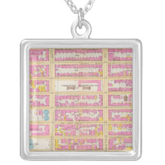 Manhatten, New York 19 Silver Plated Necklace