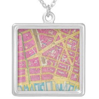 Manhatten, New York 21 Silver Plated Necklace