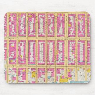 Manhatten, New York 24 Mouse Mat