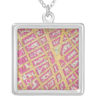 Manhatten, New York 25 Silver Plated Necklace