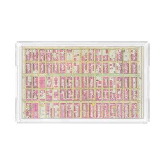 Manhatten, New York 3 Acrylic Tray
