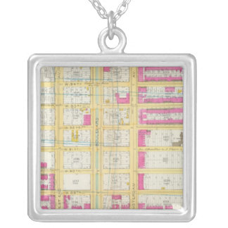 Manhatten, New York 3 Silver Plated Necklace
