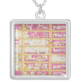Manhatten, New York 4 Silver Plated Necklace