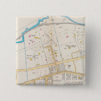 Manhatten, New York 5 15 Cm Square Badge
