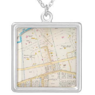 Manhatten, New York 5 Silver Plated Necklace
