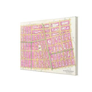 Manhatten, New York 7 Canvas Print