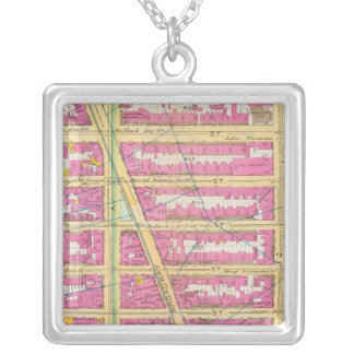 Manhatten, New York 7 Silver Plated Necklace