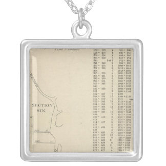 Manhatten, New York Silver Plated Necklace