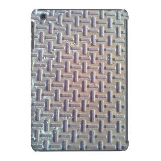 Manhole cover iPad mini retina cases