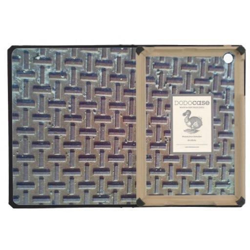 Manhole cover iPad mini covers