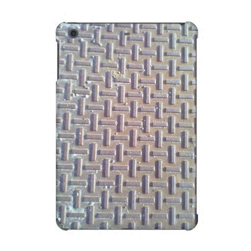 Manhole cover iPad mini cover