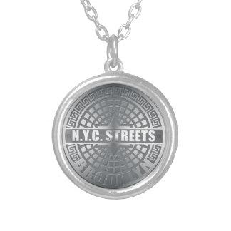 Manhole Covers Brooklyn Custom Necklace