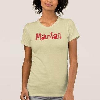 Maniac T-shirt design graphic tee