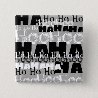 Maniacal Laughter 15 Cm Square Badge