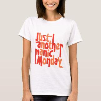 Manic Monday 80s Retro Pop Culture Graphic T-Shirt