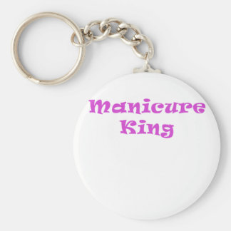 Manicure King Basic Round Button Key Ring
