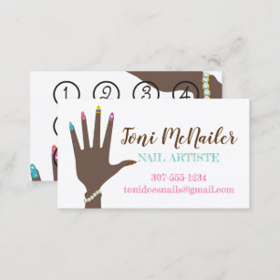 Fingernail polish nails manicure business cards business card manicure manicurist nail artist hand business card colourmoves