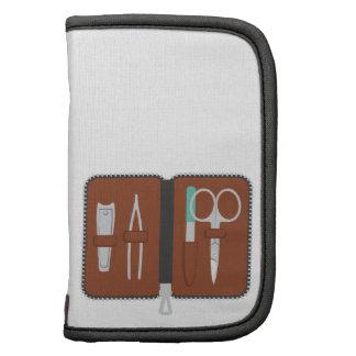 Manicure Nails Grooming Travel Kit Scissors File Organizer
