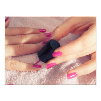 Manicure Photographic Print