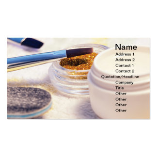 Manicure tools business card