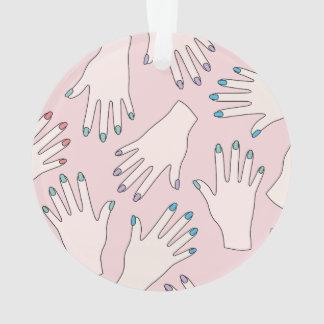 Manicured Hands Nail Studio Pink Pastel Pattern