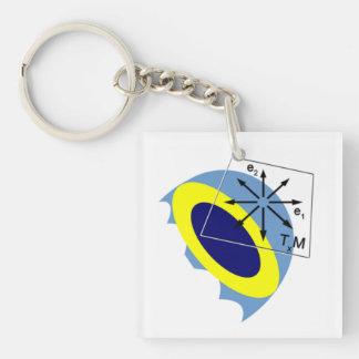 Manifold! Single-Sided Square Acrylic Key Ring