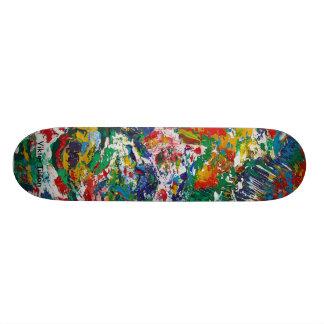 """Manik"" skake board design by Viktor Tilson 21.3 Cm Mini Skateboard Deck"