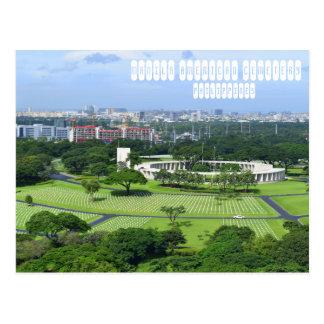 Manila American Cemetery Postcard