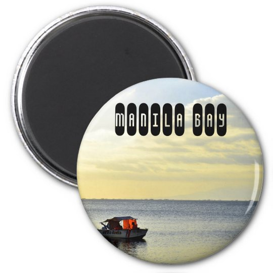 Manila Bay in Philippines Magnet