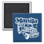 Manila Jeepney Magnet